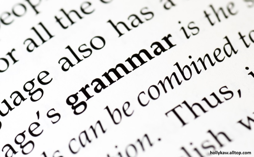 Do readers care about grammar?