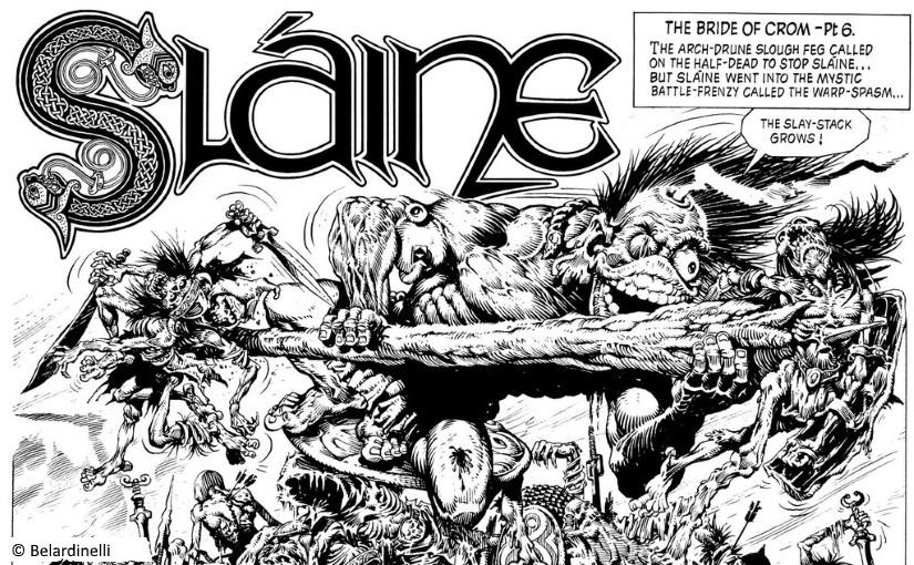 Slaine has a warp spasm